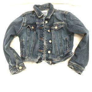 Old Navy girls denim jacket